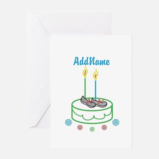 CUSTOMIZE Sports Birthday Greeting Cards