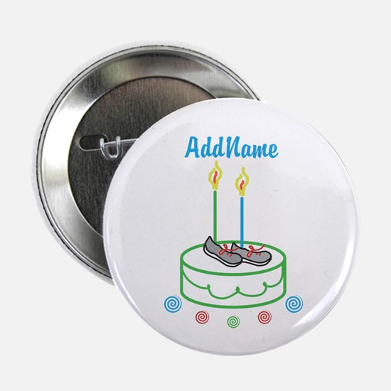 CUSTOMIZE Sports Birthday 2.25 In. Button