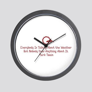 The Weather Wall Clock