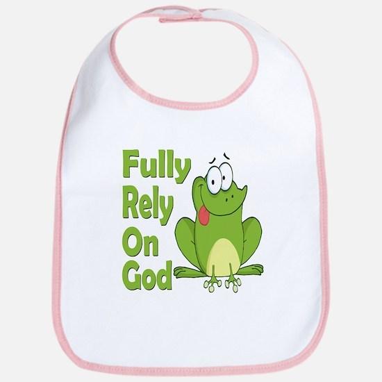 Fully Rely On God Bib