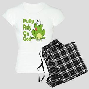 Fully Rely On God Women's Light Pajamas