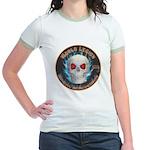 Legion of Evil Accountants Jr. Ringer T-Shirt