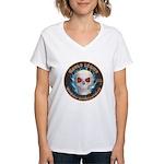 Legion of Evil Accountants Women's V-Neck T-Shirt