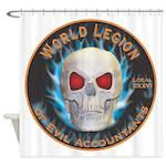 Legion of Evil Accountants Shower Curtain