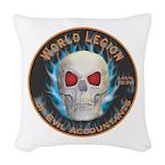Legion of Evil Accountants Woven Throw Pillow