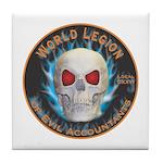Legion of Evil Accountants Tile Coaster