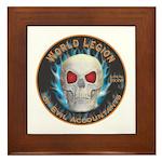 Legion of Evil Accountants Framed Tile