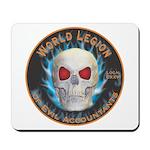 Legion of Evil Accountants Mousepad