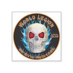 Legion of Evil Auditors Square Sticker 3