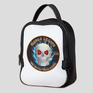 Legion of Evil Auditors Neoprene Lunch Bag