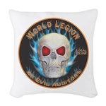 Legion of Evil Auditors Woven Throw Pillow