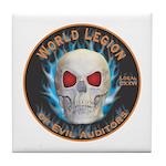 Legion of Evil Auditors Tile Coaster
