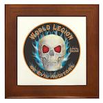 Legion of Evil Auditors Framed Tile