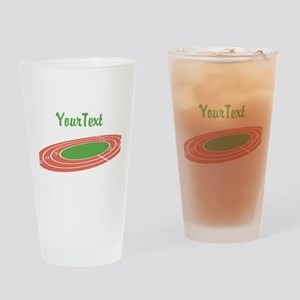 Customize Track Drinking Glass