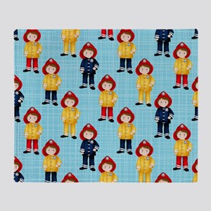 Future Firefighters Throw Blanket