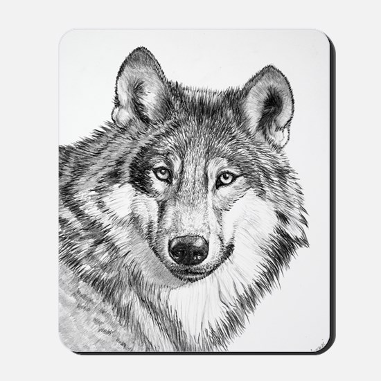 Endangered Species--North American Gray  Mousepad