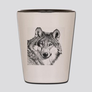 Endangered Species--North American Gray Shot Glass