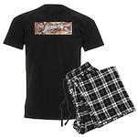 Hound Chase Men's Dark Pajamas
