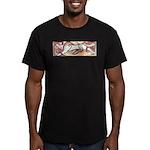 Hound Chase Men's Fitted T-Shirt (dark)