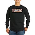 Hound Chase Long Sleeve Dark T-Shirt