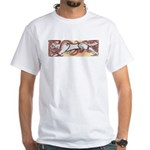 Hound Chase White T-Shirt