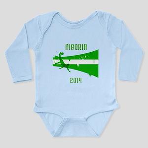 Nigeria World Cup 2014 Long Sleeve Infant Bodysuit