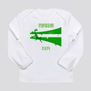 Nigeria World Cup 2014 Long Sleeve Infant T-Shirt