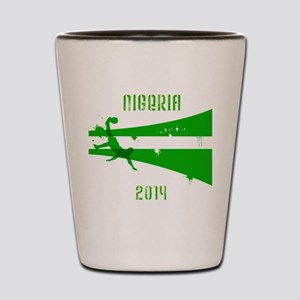 Nigeria World Cup 2014 Shot Glass