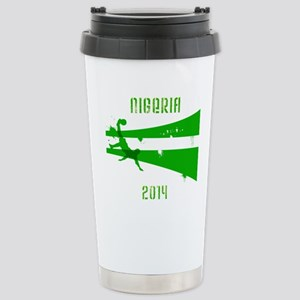 Nigeria World Cup 2014 Stainless Steel Travel Mug