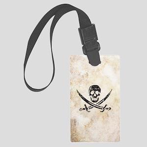 Pirate Large Luggage Tag