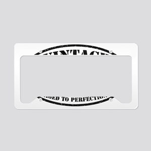Vintage Aged to Perfection 50 License Plate Holder