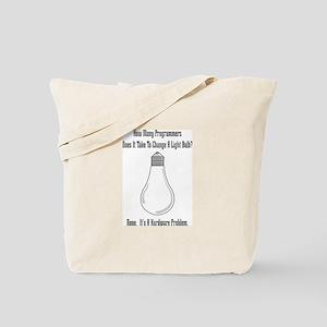 Change Bulb Tote Bag