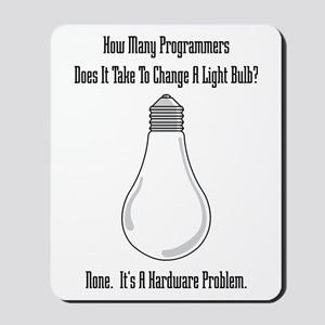 Change Bulb Mousepad