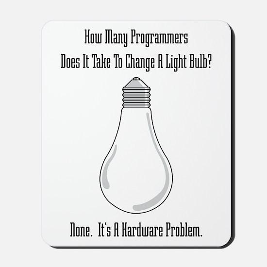 Change Bulb Mousepad
