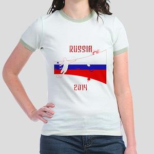 Russia World Cup 2014 Jr. Ringer T-Shirt
