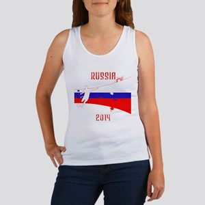 Russia World Cup 2014 Women's Tank Top