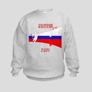 Russia World Cup 2014 Kids Sweatshirt