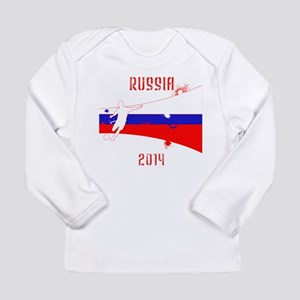 Russia World Cup 2014 Long Sleeve Infant T-Shirt