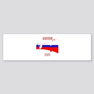 Russia World Cup 2014 Sticker (Bumper)
