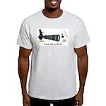 WTD: Kiss My Glass Light T-Shirt