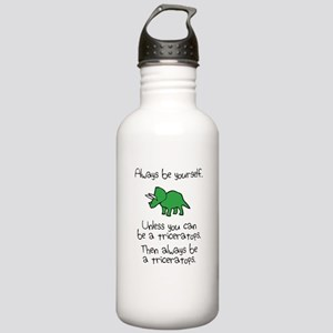 Always Be A Triceratops Sports Water Bottle