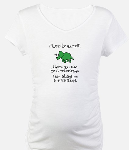 Always Be A Triceratops Shirt