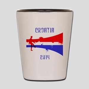 Croatia World Cup 2014 Shot Glass