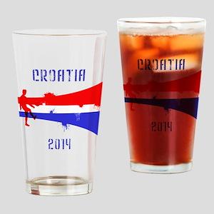 Croatia World Cup 2014 Drinking Glass
