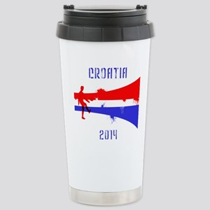 Croatia World Cup 2014 Stainless Steel Travel Mug
