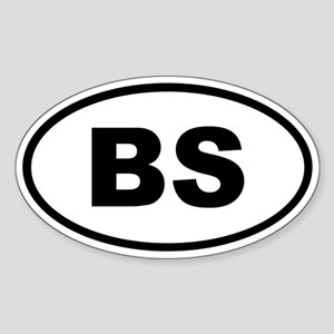 Bahamas BS Sticker