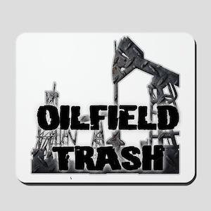Oilfield Trash Diamond Plate Mousepad