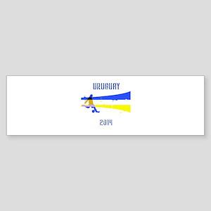 Uruguay World Cup 2014 Sticker (Bumper)