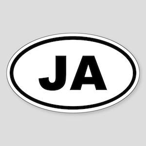 Jamaica JA Sticker