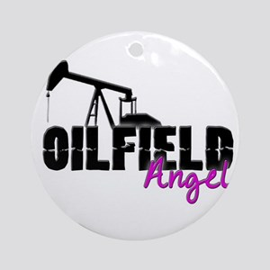 Oilfield Angel Ornament (Round)